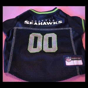 New Seahawks Dog Pet Jersey-00 Size Small 🏈🏈